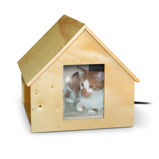 Birchwood Manor Thermo-Kitty Home (Heated)
