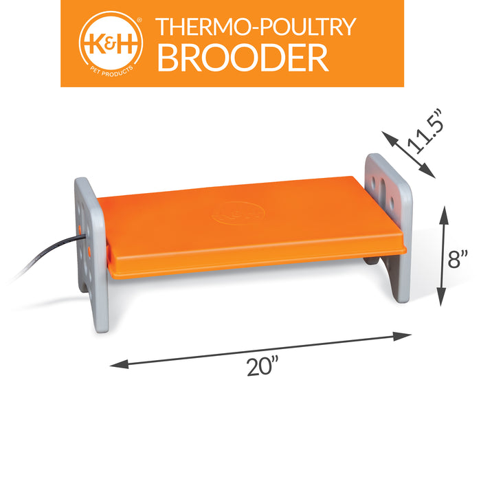 Thermo-Poultry Brooder