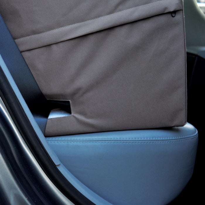 Bucket Booster Seat Belt Entry