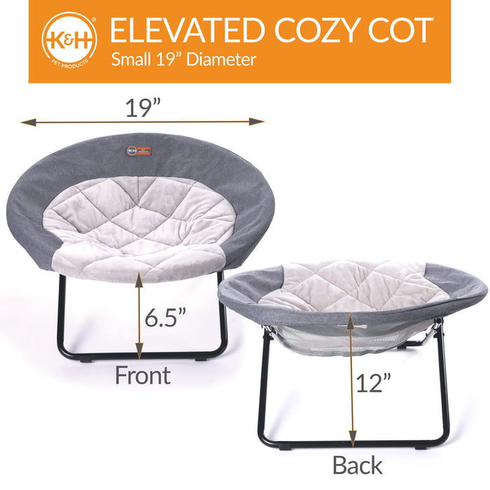 Elevated Cozy Cot