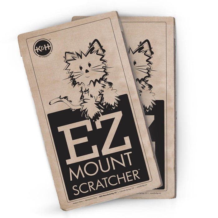 EZ Mount Scratcher Refill Back