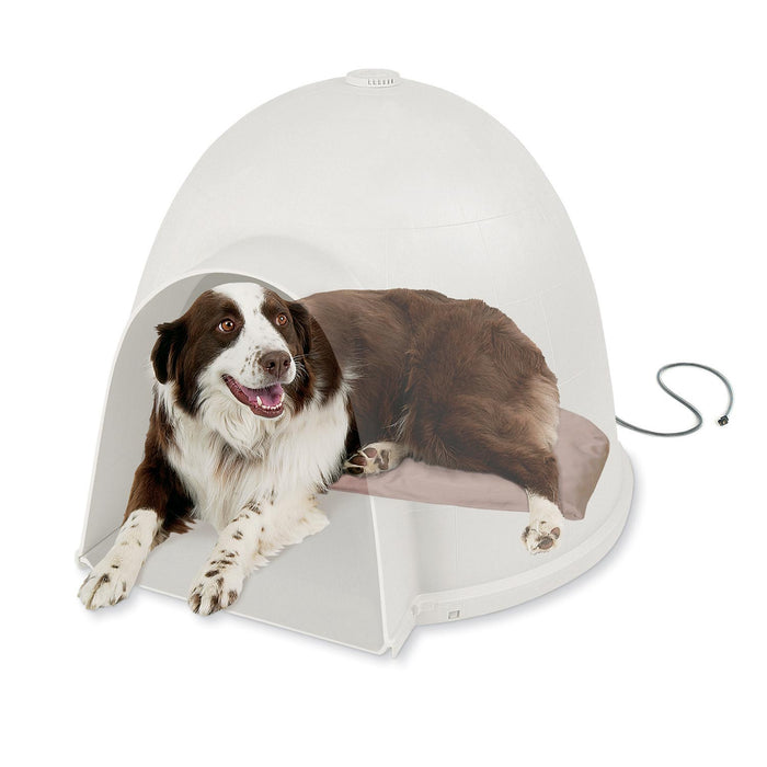 Lectro-Soft™ Igloo-Style Orthopedic Heated Dog Bed 2