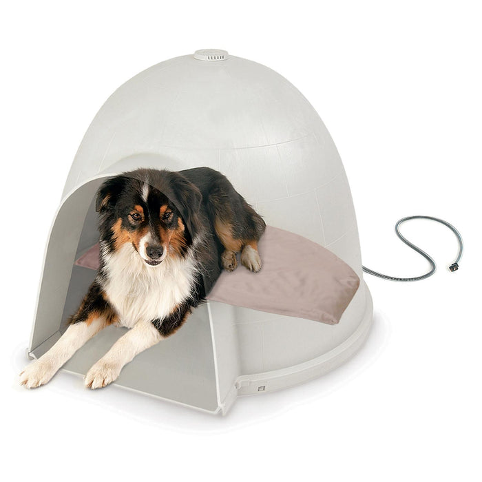 Lectro-Soft™ Igloo-Style Orthopedic Heated Dog Bed 3