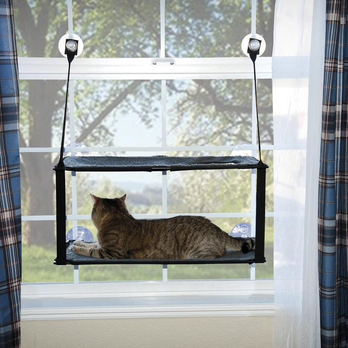 K&H Kitty Sill - Double Stack EZ Window Mount