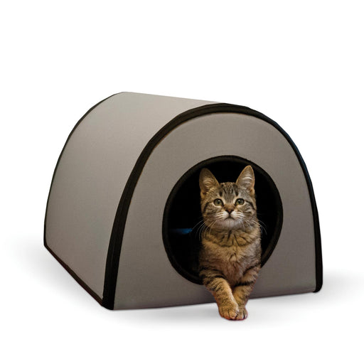K&H Mod Thermo-Kitty Shelter Gray