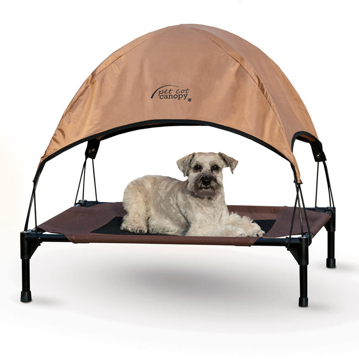 Pet Cot Canopy Tan