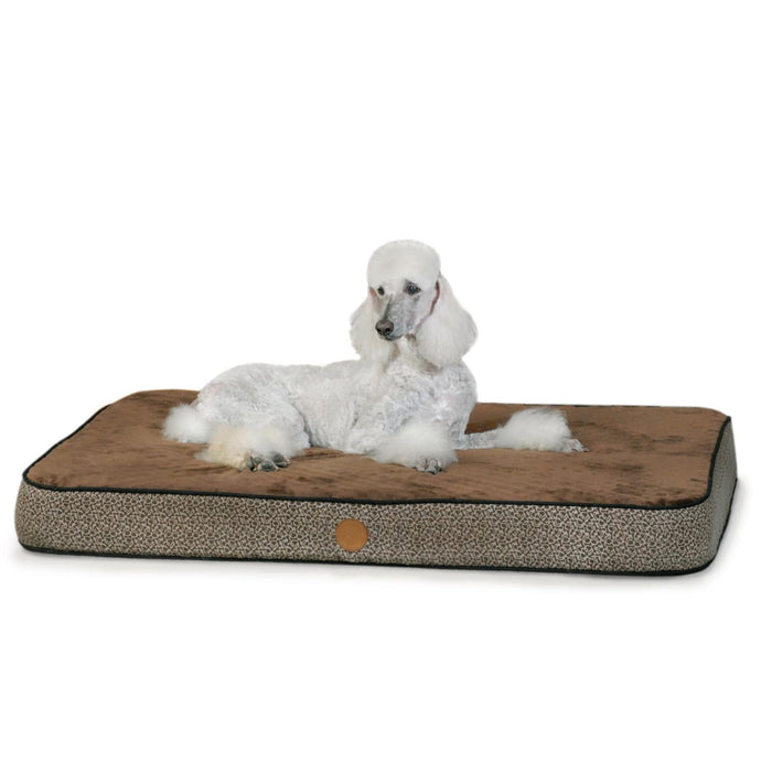 K&H Superior Orthopedic Bed Mocha/Pawbone