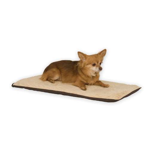 K&H Thermo-Pet Mat Mocha/Tan