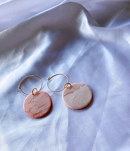 Minimal hoops rose gold