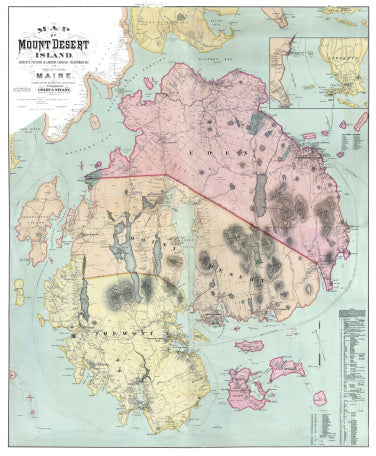 The surprising accuracy of vintage maps is one of the earliest national park maps it is considered a fairly accurate representation of the area that became the home to acadia national park gumiabroncs Gallery