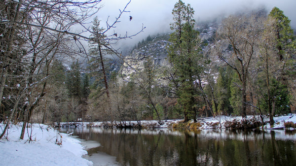 WIntertime on the Merced River
