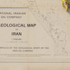 Iran 1957 Relief Map