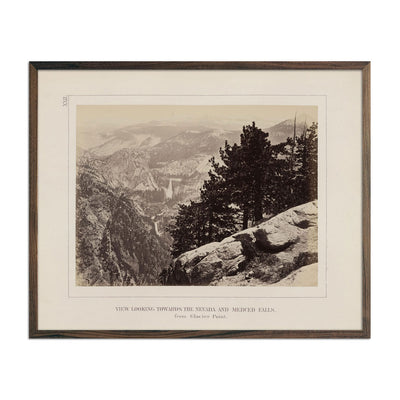 Photograph of View from Glacier Point