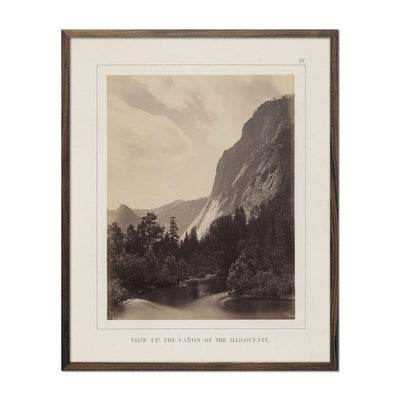 Canyon and Illilouette, Yosemite 1868