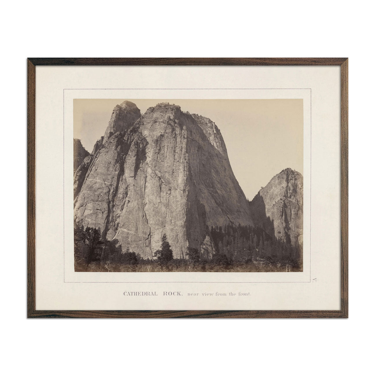 Photograph of Cathedral Rock