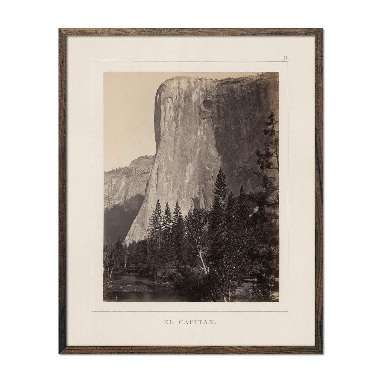 Photograph of El Capitan