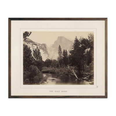 Photograph of Half Dome