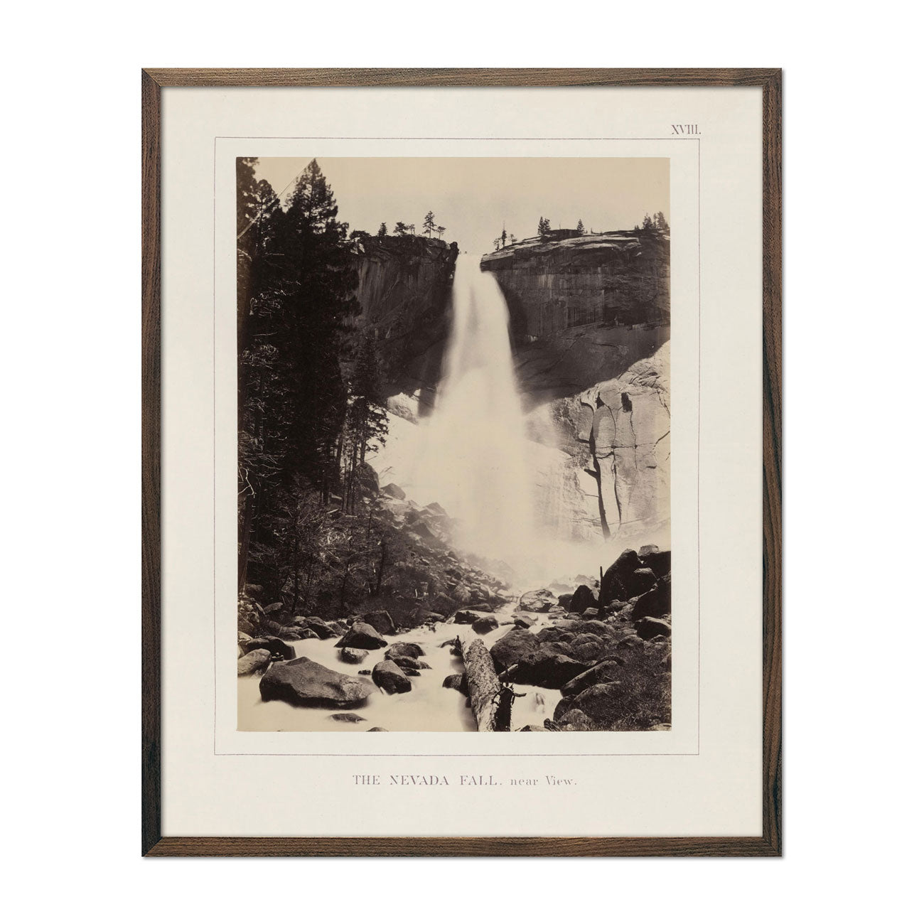 Photograph of Nevada Fall