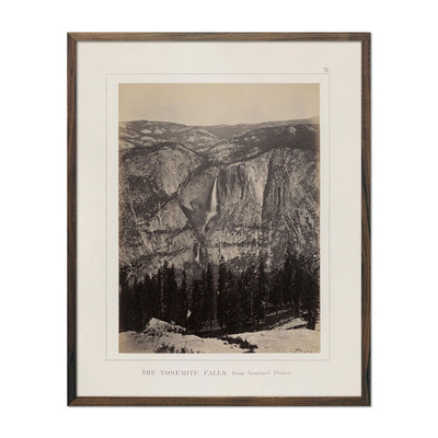 Photograph of Yosemite Falls from Sentinel Rock