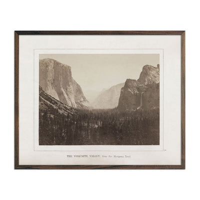 Photograph of Yosemite Valley
