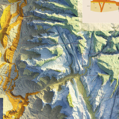 Zion 1987 Relief Map