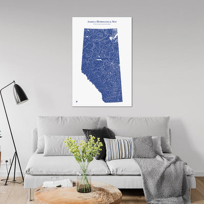 Alberta-Hydrology-Map-blue-24x36-canvas.jpg