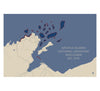 Apostle Islands National Lakeshore Map