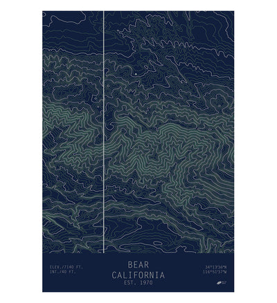 Bear, California
