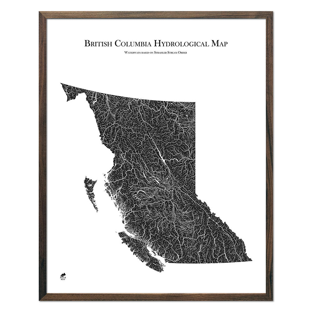 British-Columbia-Hydrology-Map-black-24x30-walnut.jpg