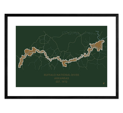 Buffalo National River Map