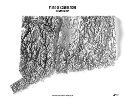 Connecticut 3D Map