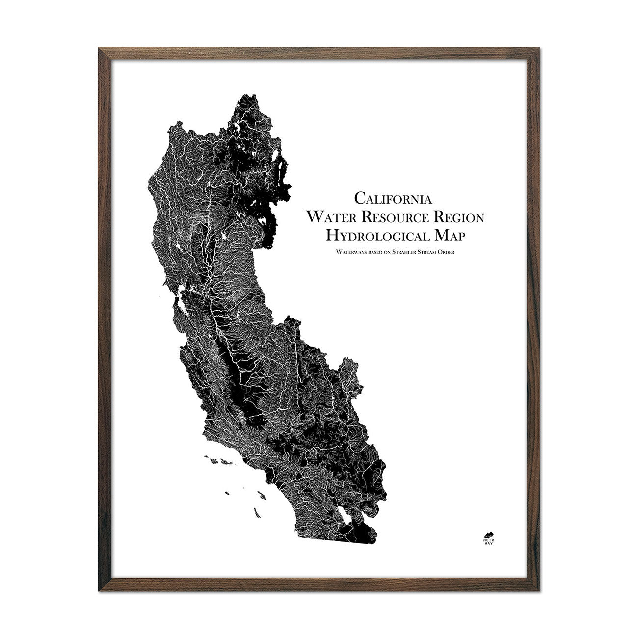 California Regional Hydrological Map