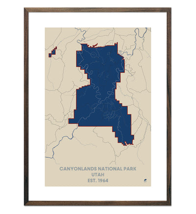 Canyonlands National Park Map
