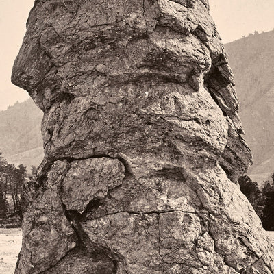 Cap of Liberty, Mammoth Hot Springs, Yellowstone 1873