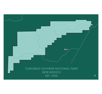 Carlsbad Caverns National Park Map