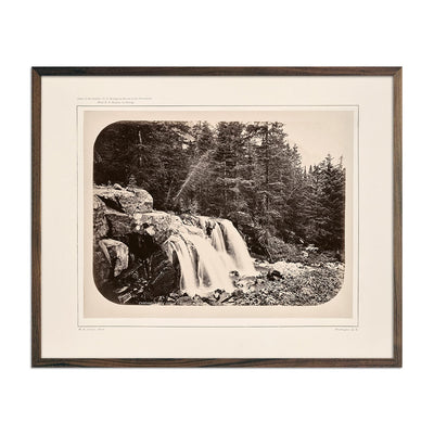 Photograph of Cascade from Mount Blackmore No. 2