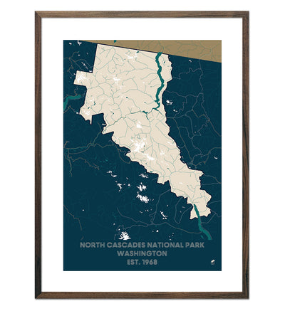 North Cascades National Park Map