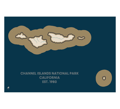 Channel Islands National Park Map