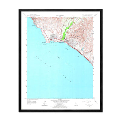 Dana Point, CA 1948 USGS Map