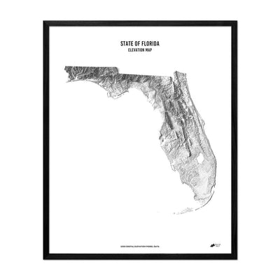 Florida Relief Map