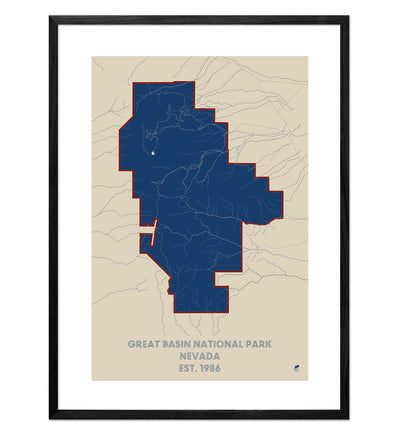 Great Basin National Park Map