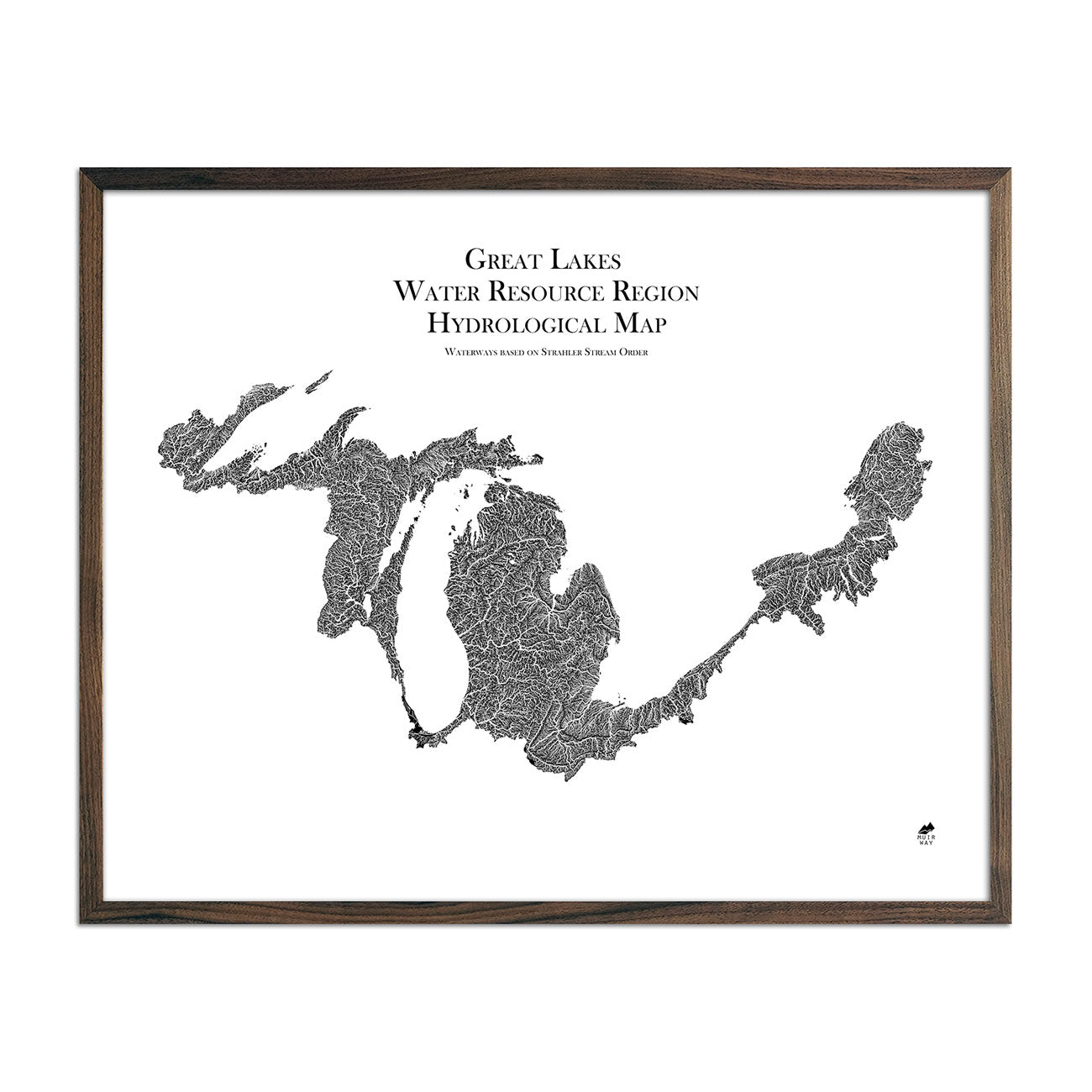 Great Lake Regional Hydrological Map