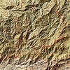 Great Smoky Mountains Relief Map
