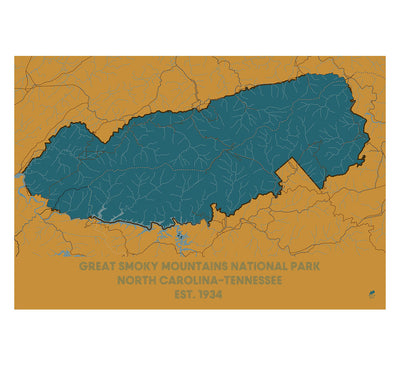 Great Smoky Mountains National Park Map