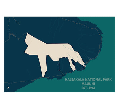 Haleakala National Park Map