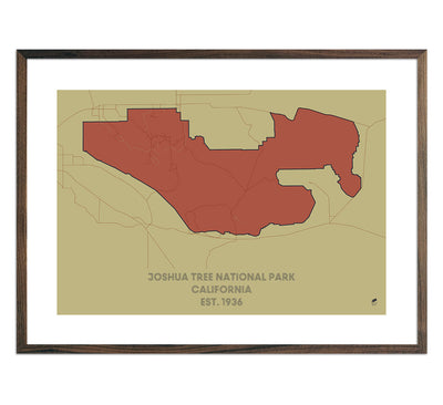 Joshua Tree National Park Map