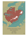 Katmai National Park and Preserve Map