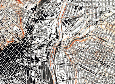 Los Angeles, CA 1931 USGS Map