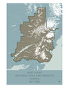 Lake Clark National Park and Preserve Map