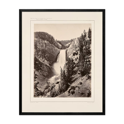 Lower Falls of the Yellowstone, Near View, Yellowstone 1873